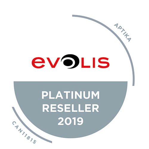 Aptika has reached the highest level in the Evolis Red Program: Platinum