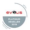 Aptika has reached the highest level in the Evolis Red Program: Platinum