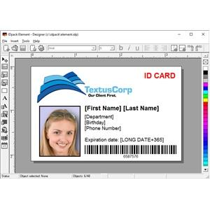 - 9 Software Id Aptika elem9-1 Idpack Element Card