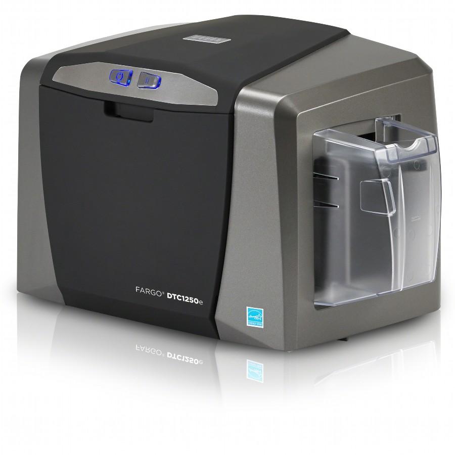 fargo dtc1250e id card printer dual sided usb - Id Card Printer