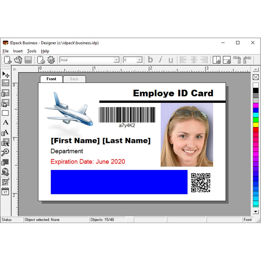 ID Card Software (BUSI9-1)