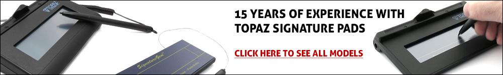 Topaz Signature Pad